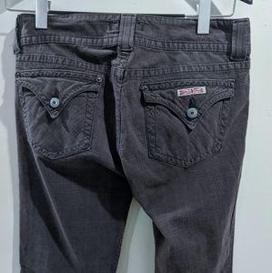 Hudson Jeans plaid antique black size 30